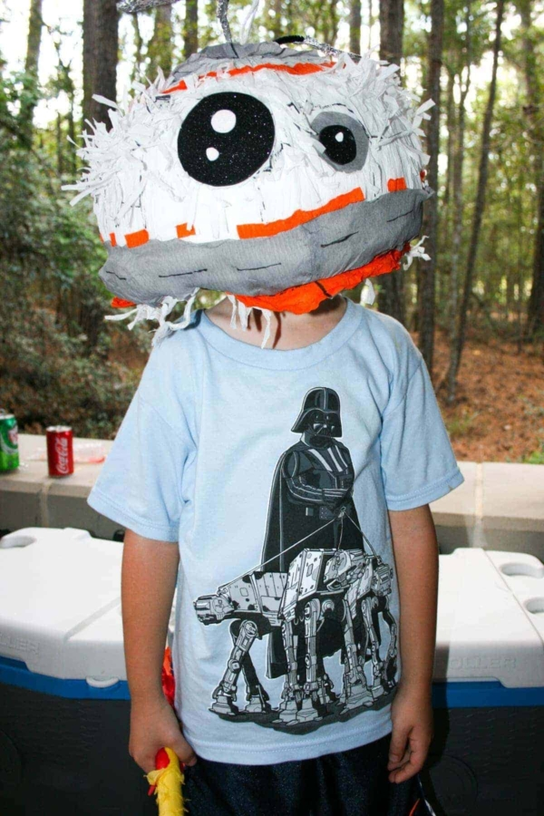Jacob at His Star Wars Themed Birthday Party