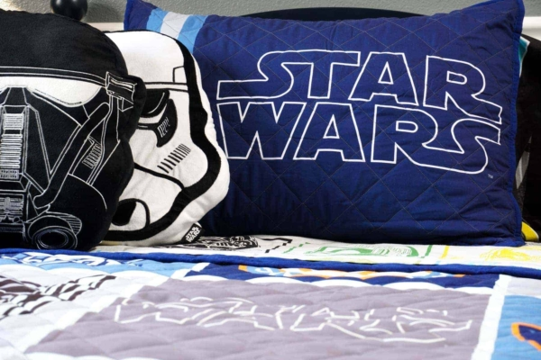 Storm Trooper and Star Wars Pillows