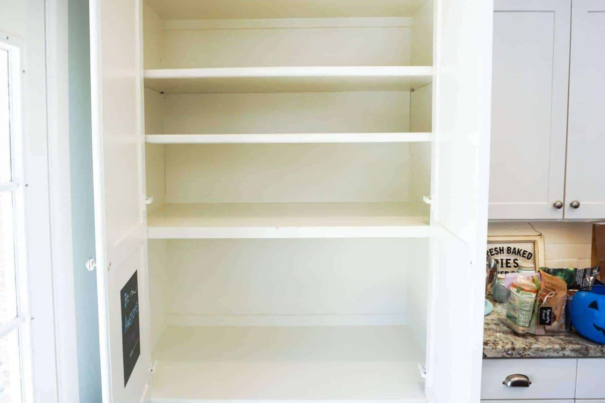 Emptied Pantry