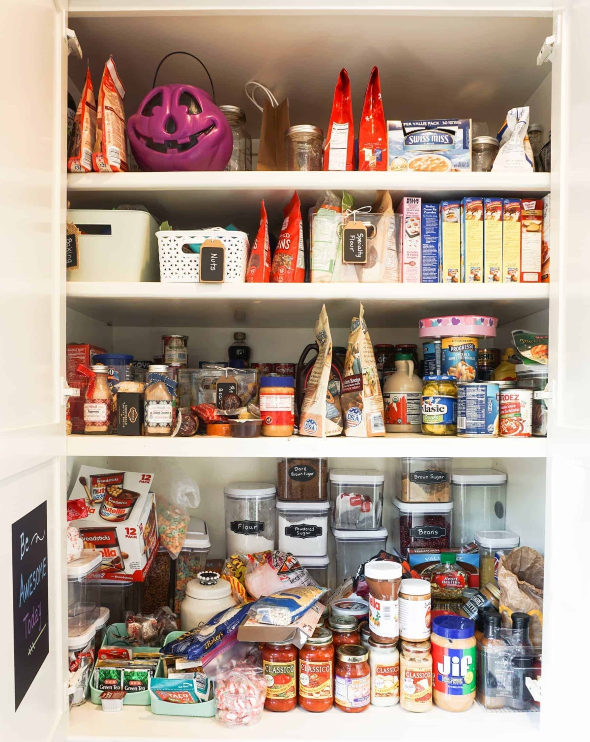 Cluttered Messy Kitchen Pantry