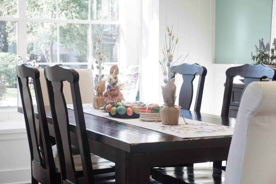Our Spring Dining Room: A Simple Spring Dining Room