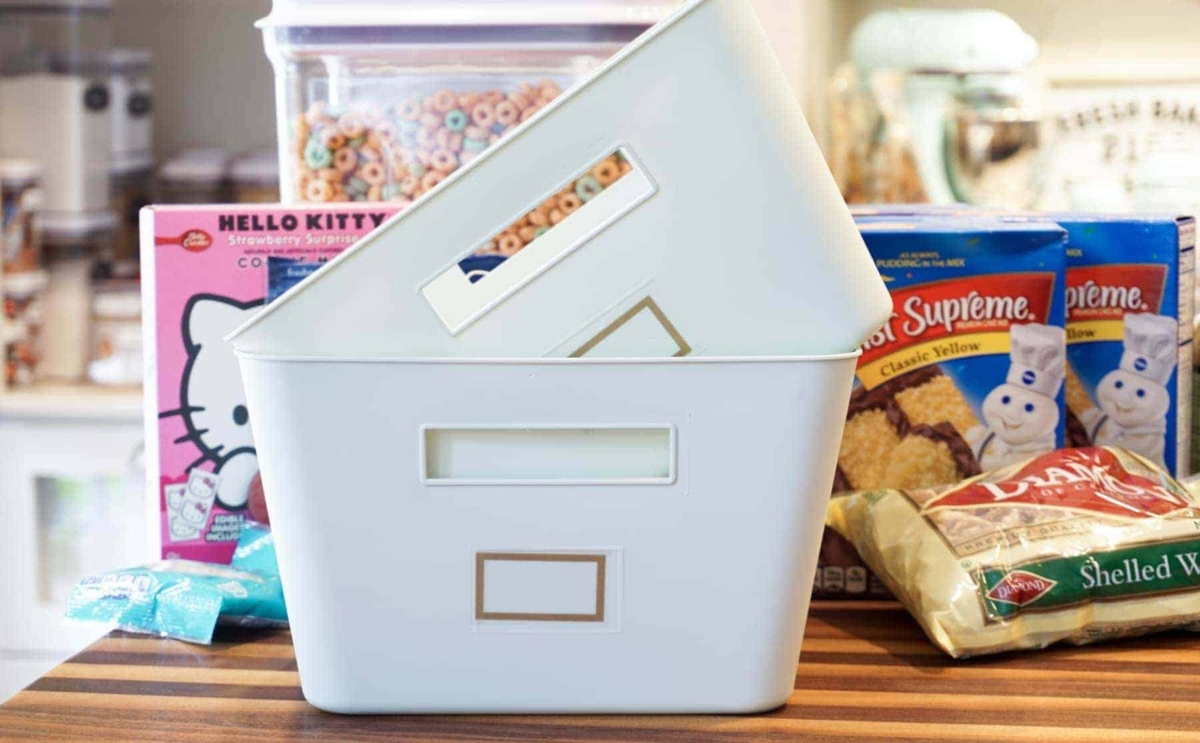 Small Storage Baskets Pantry