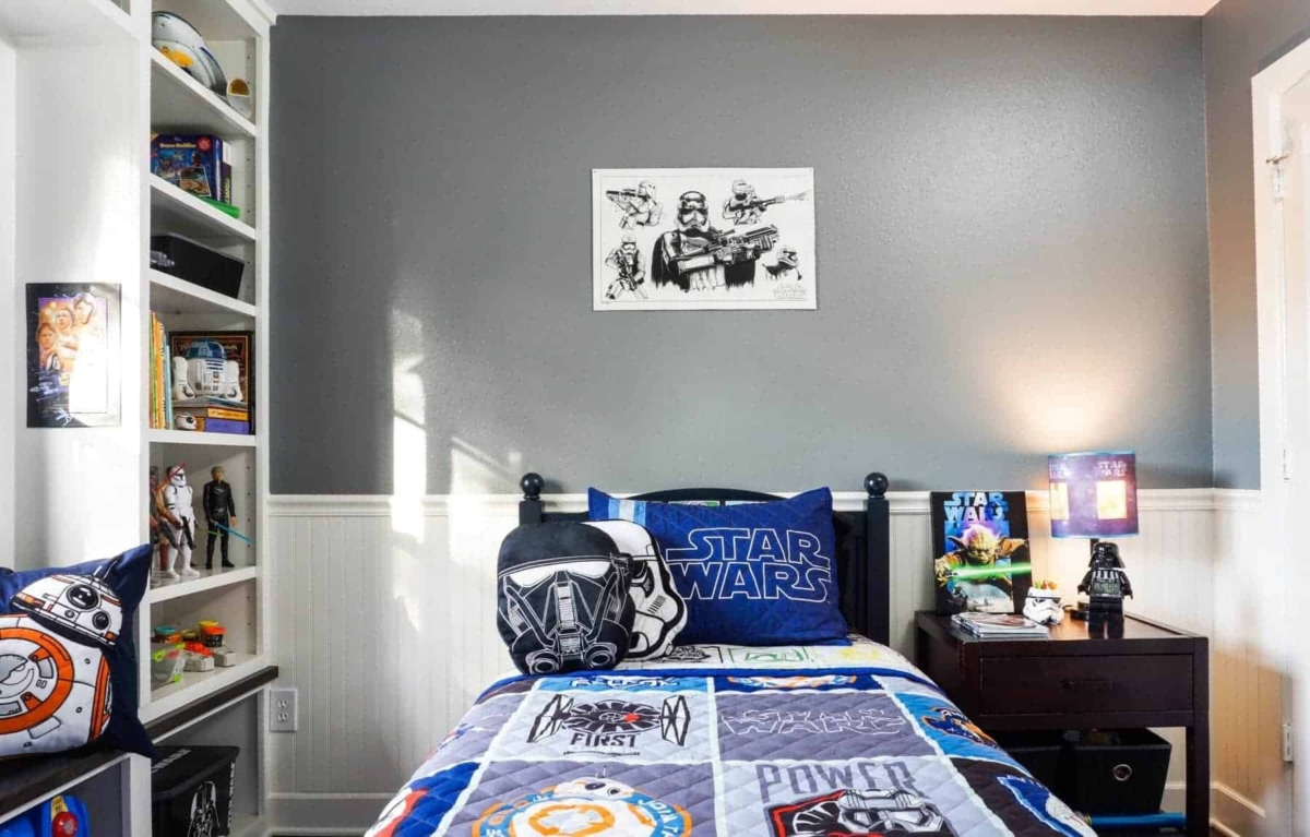 Out of This World Star Wars Bedroom [Kids\' Bedroom Decor Ideas ...