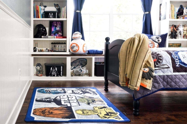 A Star Wars Rug Finishes Off This Boys Room Makeover