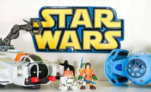 Star Wars Toys and Star Wars Metal Wall Plate