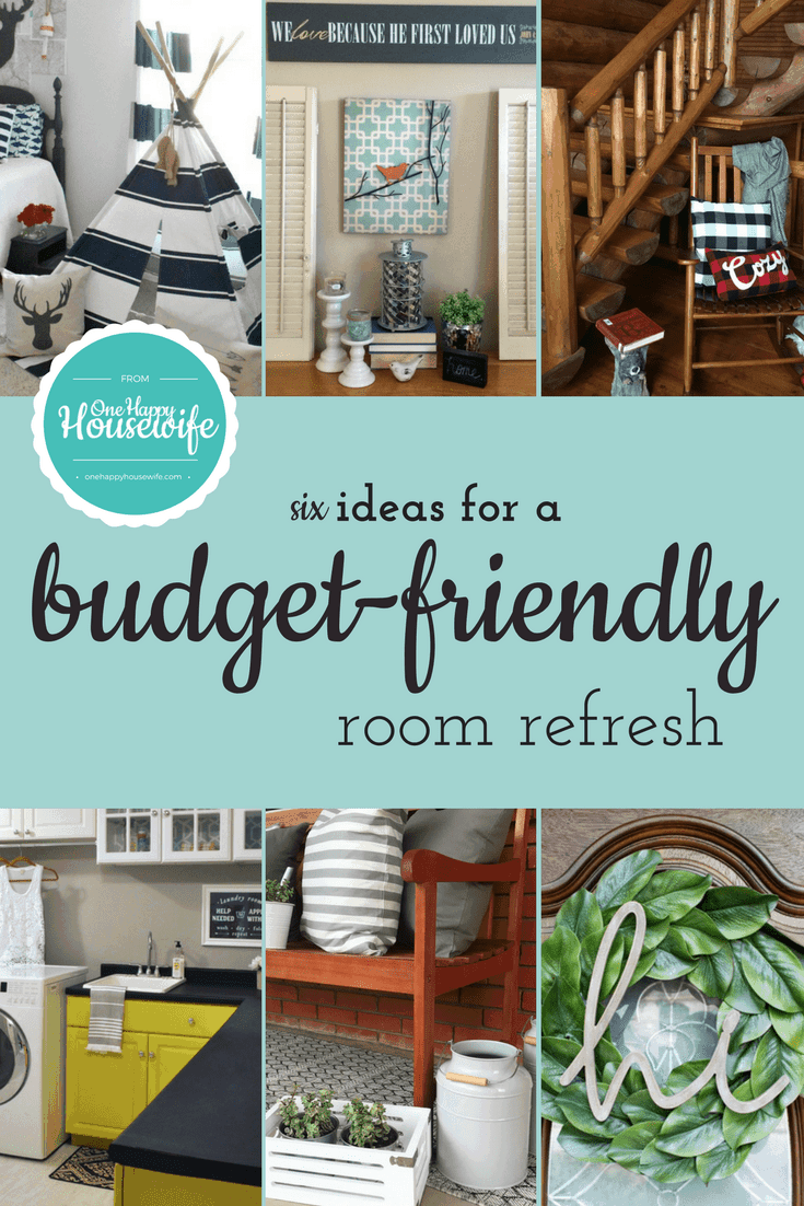 Budget-friendly tips for giving your home a refresh.
