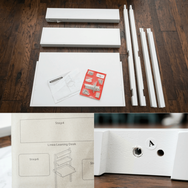 Small Homeschool Desk Parts And Instructions