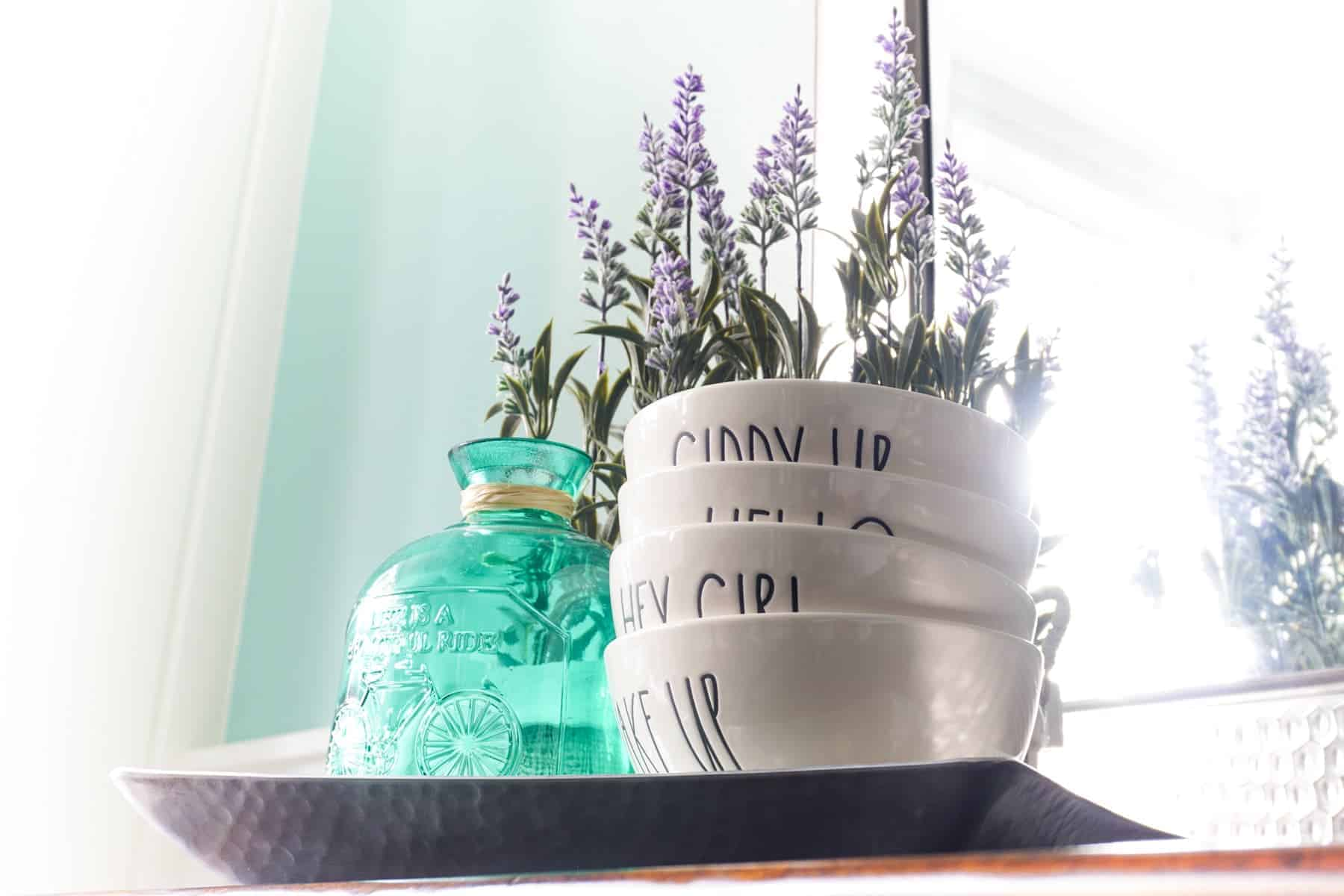 Decorating With Lavender Flowers One Happy Housewife