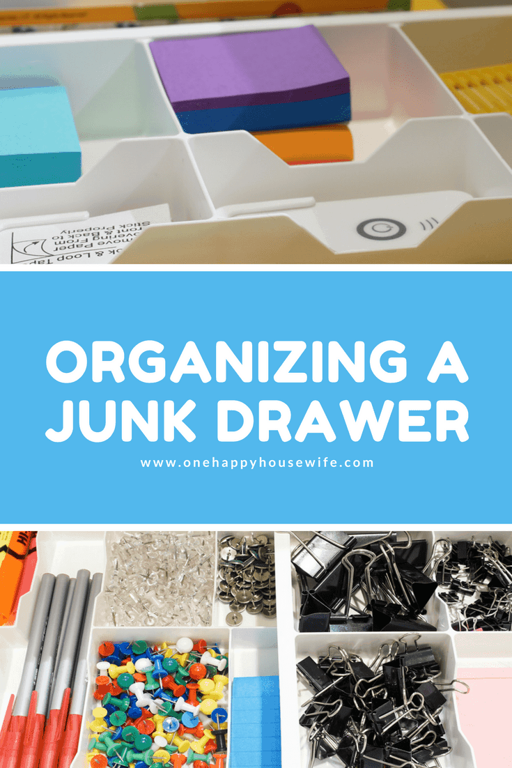 It's time to get that junk drawer cleaned out and organized! I found the perfect drawer organizer to keep my junk drawer clean and tidy. Check it out...