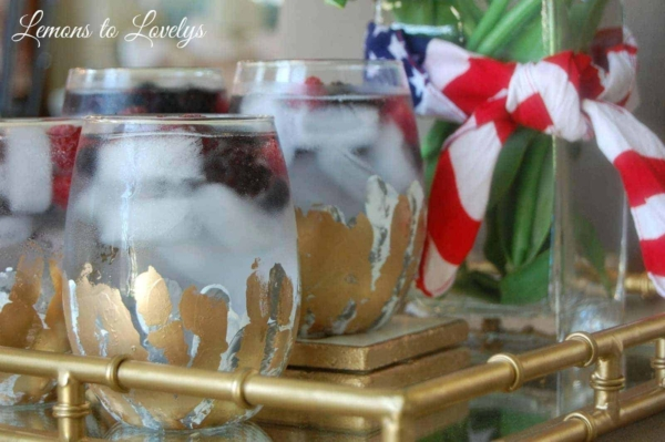 Celebrate the 4th with this delicious and refreshing cocktail.