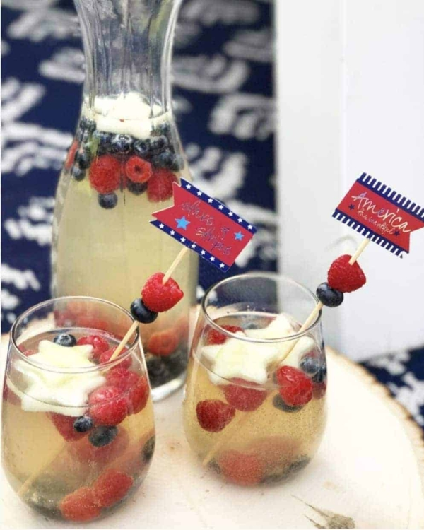 Celebrate with this All American summer refreshment