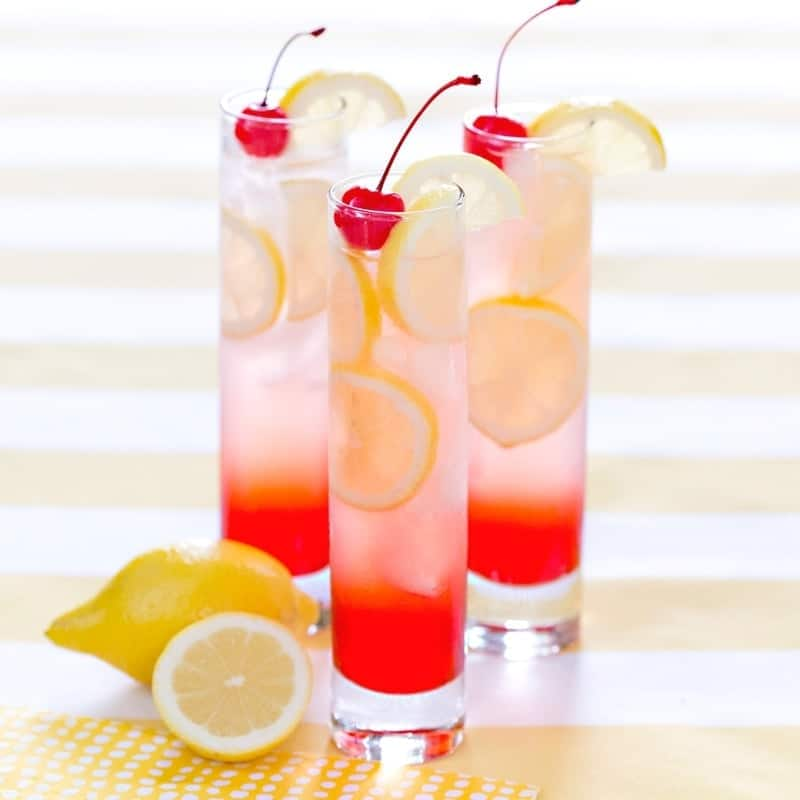 Ahhh... How refreshing! This cherry lemonade is so refreshing on a hot summer day.