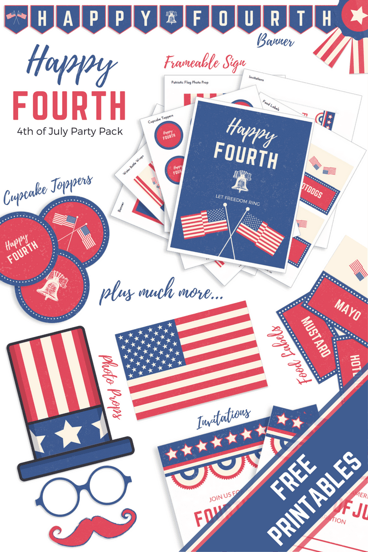 Celebrate Independence Day with Food, Fun, and 4th of July Printables