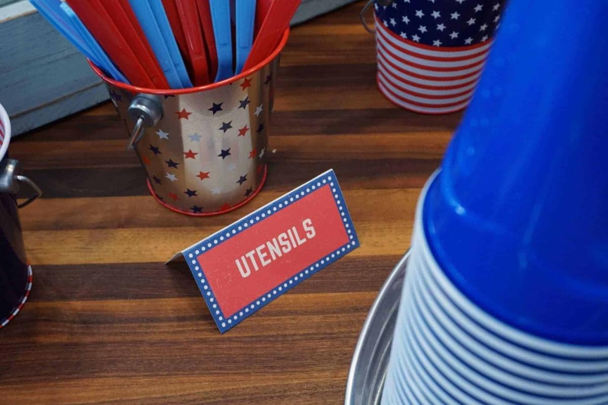 Free printable patriotic labels