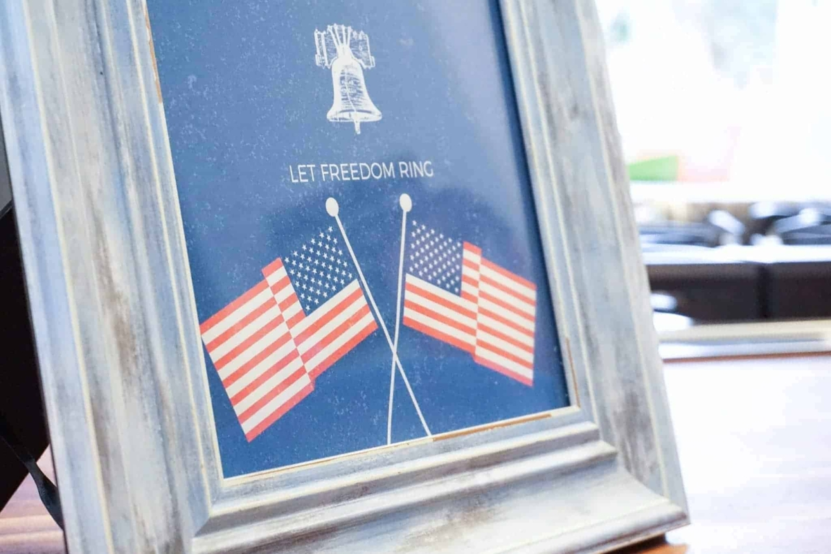 Patriotic printables for your 4th of July celebration.