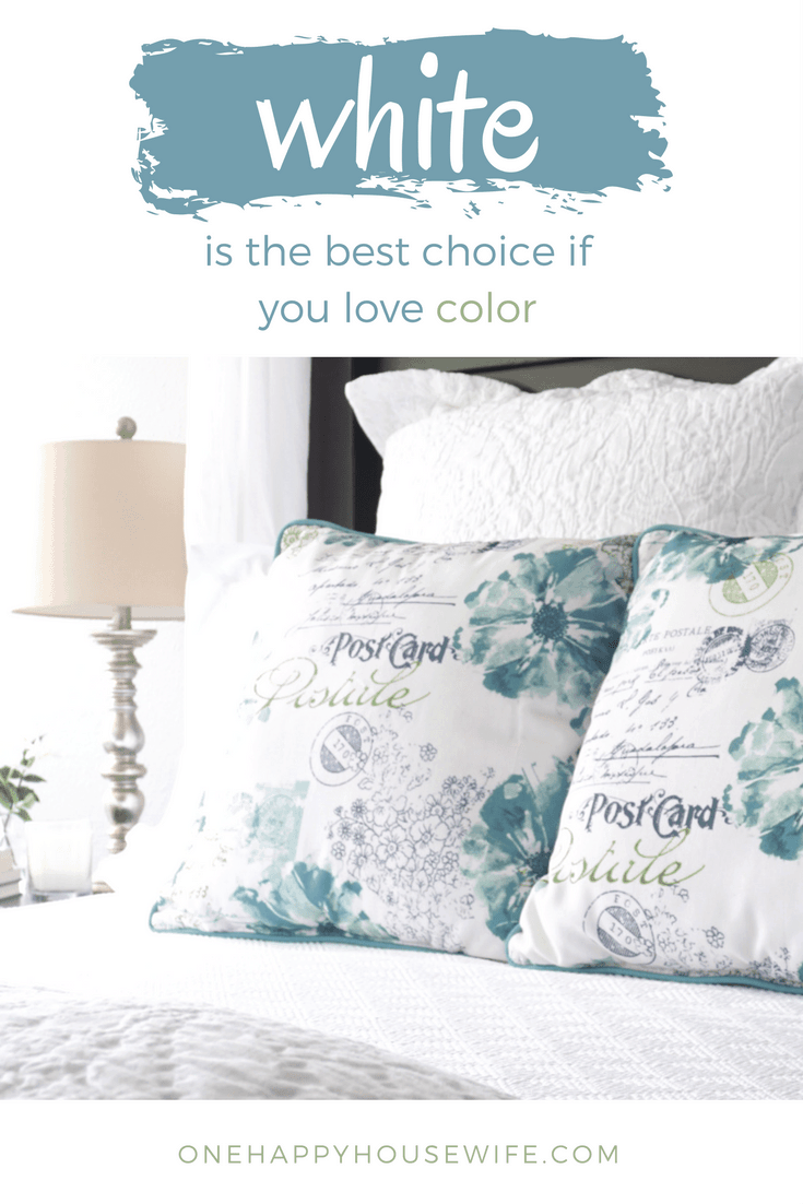 Why White Is The Best Choice When You Love Color