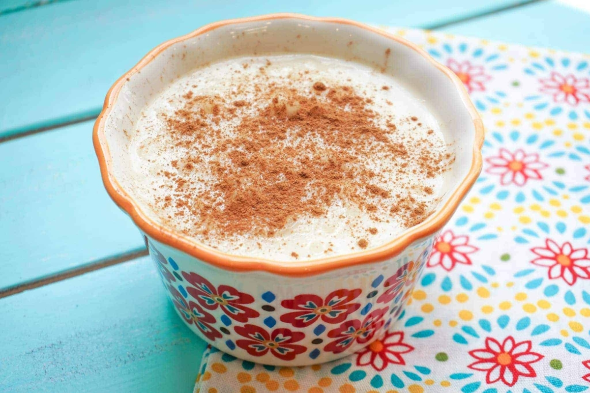 This is absolutely the best Arroz con Leche recipe I've tasted.