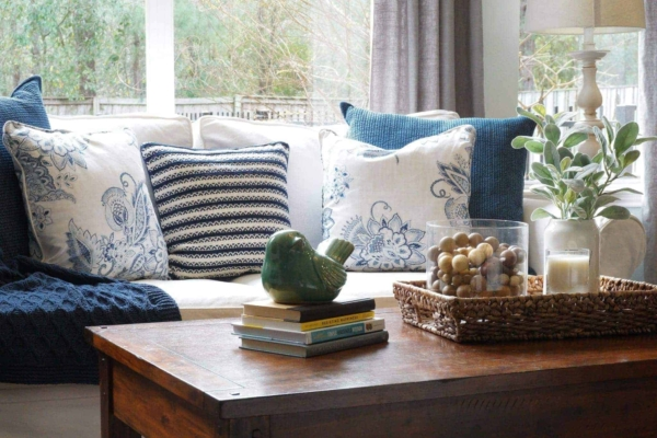 How to Clean Your Pottery Barn Slipcovered Sofa - One Happy ...
