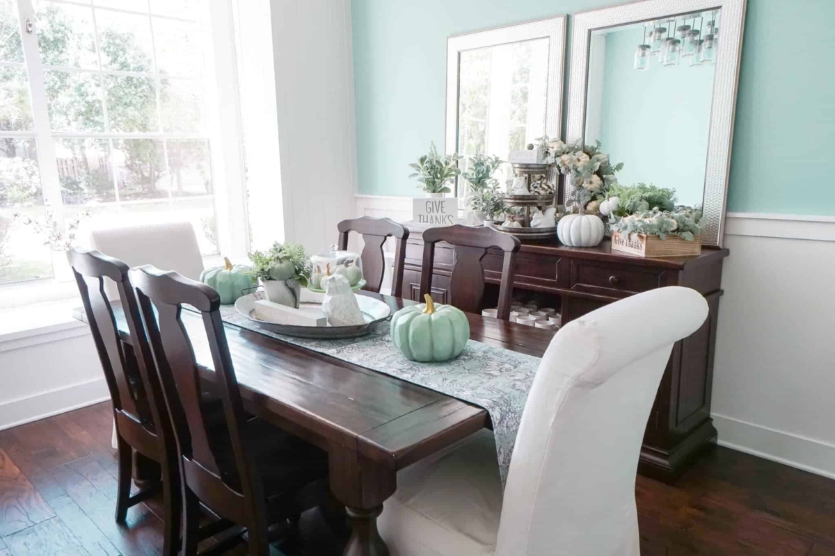 Fall dining room table decorating ideas - Fall Dining Room Decor Ideas