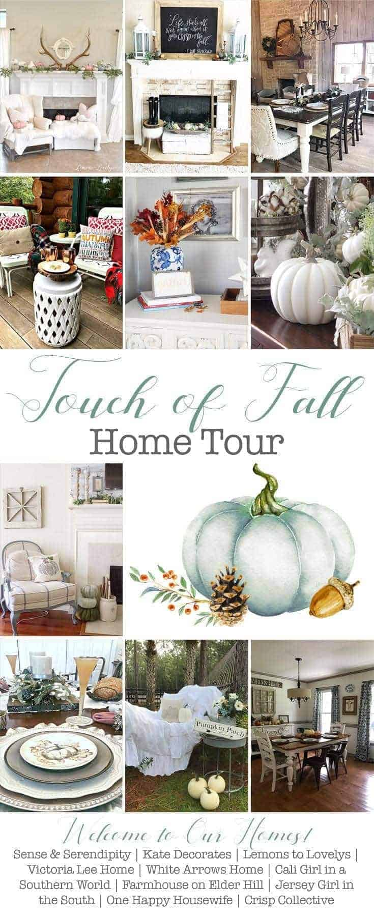 Touch of Fall Home Tour