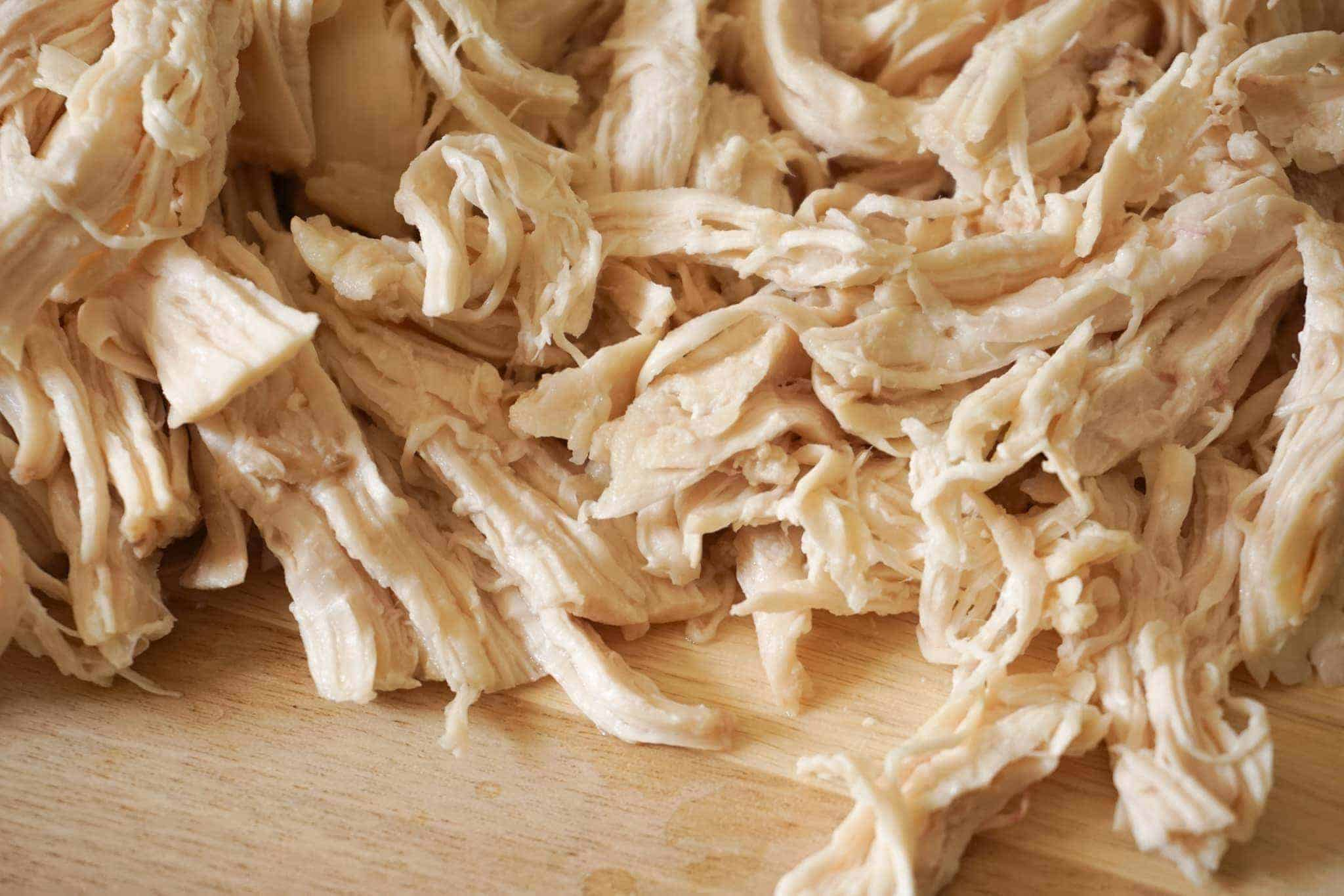 Shredded Chicken Breast in the Instant Pot