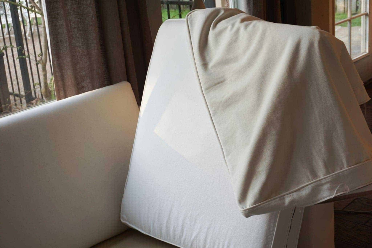 Washing White Slipcovers
