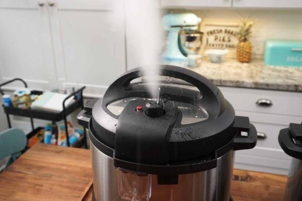 flip the trivet mess free pasta releasing pressure