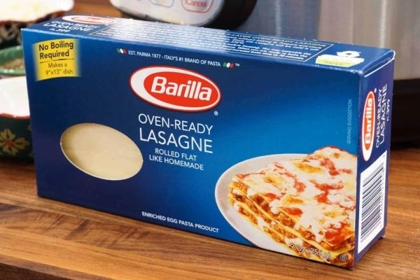 oven ready lasagne