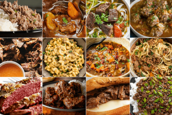 instant pot beef recipes roundup