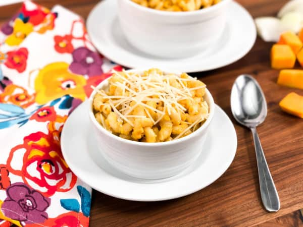 instant pot butternut mac and cheese