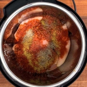 how to make salsa chicken in the instant pot