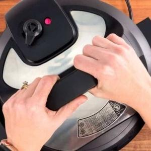 sealing the pot