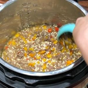 israeli couscous instant pot recipe