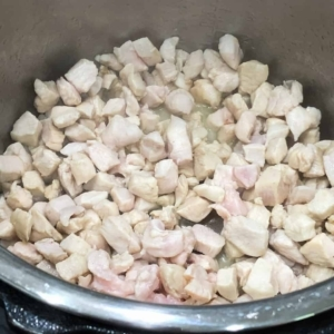 how long to cook cubed chicken breast